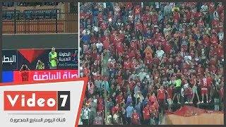 شاهد كيف استقبلت جماهير الأهلى متعب قبل لقاء نصر حسين داي