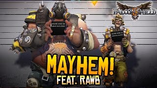 Repeat youtube video Falconshield feat. Rawb - MAYHEM! (Overwatch song)