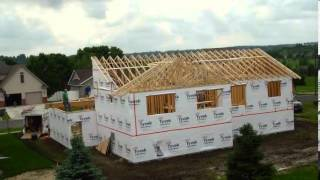 Summer 2013 Home Build Time Lapse (extended version)
