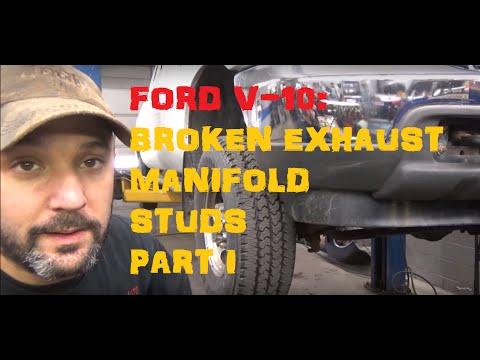 Ford F250 6.8 Broken Manifold Studs - Part 1