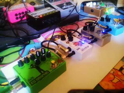 DIY PEDAL PROJECT - CRUNCH DELAY EQ PEDAL