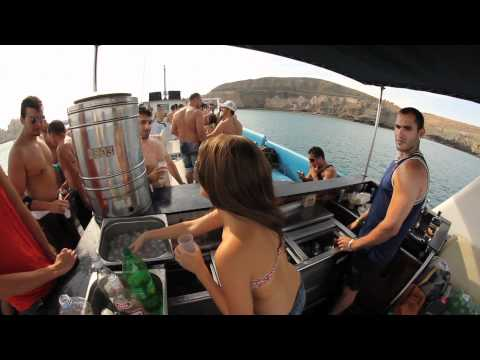 """BOAT PARTY  (Fiesta del barco) - 14 de Mayo 2011 """"Puerto Rico""""  GRAN CANARIA"""