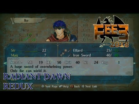 Fire Emblem E3 2018 - Radiant Dawn ReDux ~ commentary by Deltre Mp3