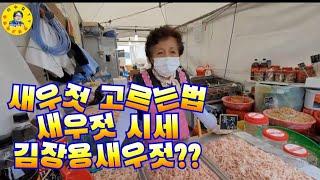 강화외포항 젓갈 수산물 직판장, 새우잡이, 추젓시세, …