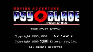 Psy-O-Blade: Moving Adventure - Opening