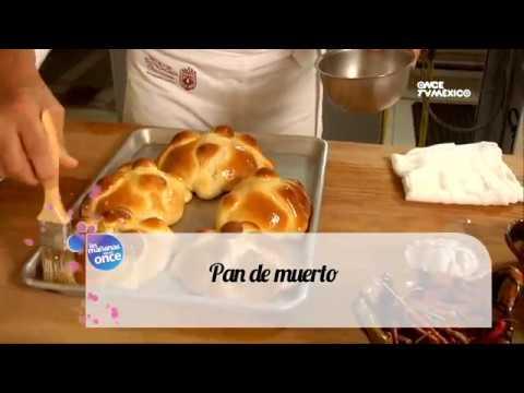 Tu cocina yuri de gortari pan de muerto viyoutube for Canal cocina mexicana