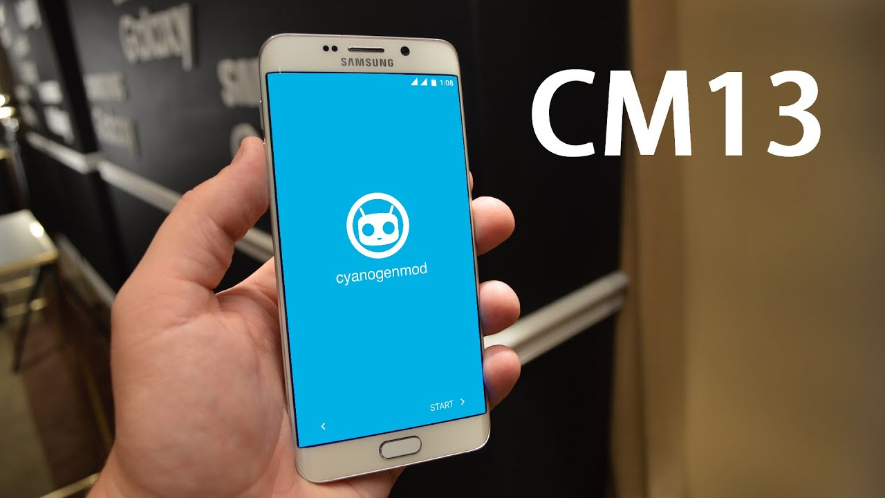 Samsung Galaxy S6 edge+ Plus Cyanogenmod 13 Android 6 0 1 Marshmallow  Custom Rom Stable build Review