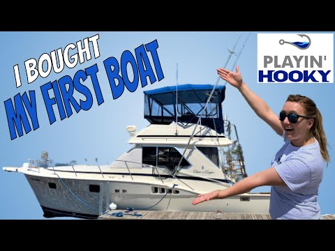 I Bought My FIRST BOAT EVER!  Salmon And Trout Fishing Boat Tour
