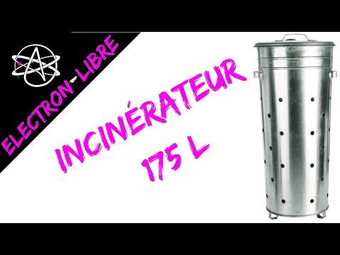 Incinerateur 175l Youtube
