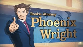 Phoenix Wright: Ace Attorney Trilogy - Announce Trailer
