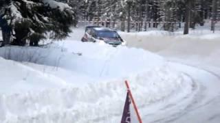 WRC Rally Sweden 2011 -  SS Rämmen - Al Qhassimi- Abu Dhabi. AEL Sweden Fans