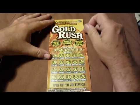 fl lottery $20 Gold Rush winner!