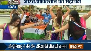 India vs Pakistan: Fans Cheer for Team India in Cricket World Cup 2015 - India TV