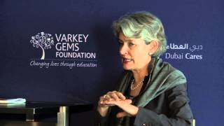 GESF 2014 Meet the Mentor: Irina Bokova, Director General, UNESCO