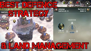 Dawn of Titans- Best Defence Strategy & Land Management