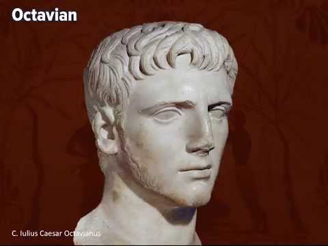 compare and contrast plutarch and octavian