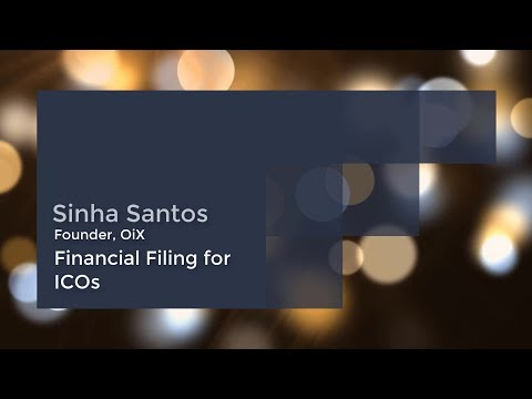 OiX ICO Exchange - Financial Filing for ICOs