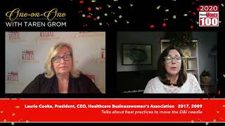 Laurie Cooke, Healthcare Businesswomen's Association – 2020 PharmaVOICE 100 Celebration