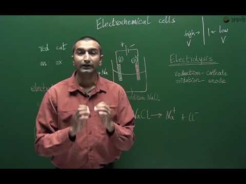 Class 12 Chemistry - Electrolytic cells