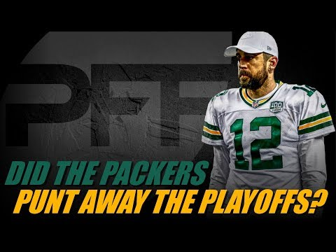Packers - Did the Packers punt away their playoff chances?