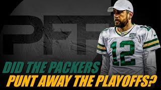 Did the Packers Punt Away their Playoff Chances? | PFF