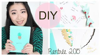 Back to School 2015 • DIY | 3 petites créations