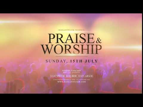 Praise and Worship After Effects Template