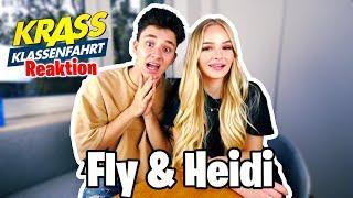 Wir HASSEN UNS? 😳 Fly & Heidi Reagieren auf Krass Klassenfahrt!