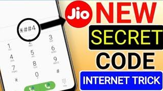 Jio New Secret Code For All Jio User Best internet Trick !Jio New Code !Technical help