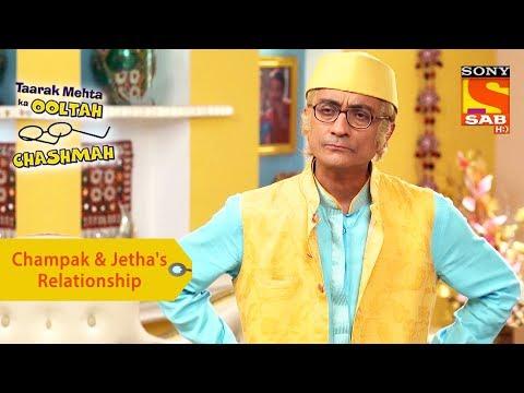 Your Favorite Character   Champak & Jetha's Relationship   Taarak Mehta Ka Ooltah Chashmah