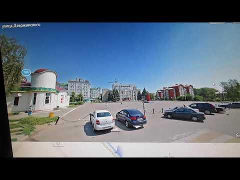 Как смотреть панорамы улиц российских городов в Yandex.Карты: панорама города Семилуки для примера