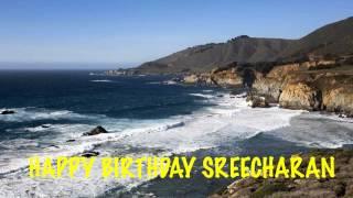 Sreecharan   Beaches Playas - Happy Birthday