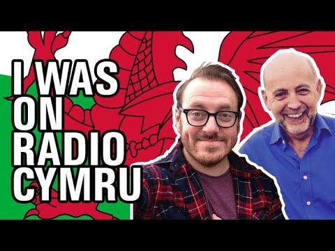 O'n i'n ar BBC Radio Cymru