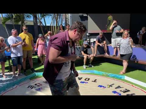 Australia Day Cane Toad Races At Redcliffe Leagues Club