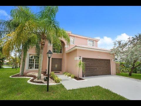 Pembroke Falls Lakefront Montego Model Home For Sale 1837 NW 131st Ave, Pembroke Pines, FL 33028