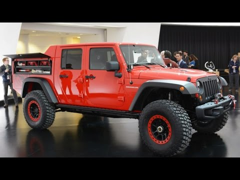 New Jeep Wrangler Red Rock Responder 2015 Easter Jeep