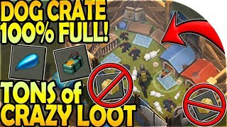 DOG CRATE 100% FULL + TONS of CRAZY LOOT (GAS TANK TOO!)  - Last Day On Earth Survival Update 1.9.4