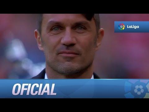 Paolo Maldini recibe el One-Club Man Award del Athletic Club