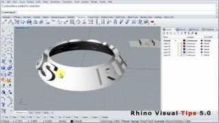 Rhino Visual Tips 5.0: Chapter 10:  Transform: Flow
