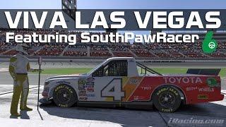iRacing - Viva Las Vegas: C Class Trucks (Guest Spotter: SouthPawRacer)