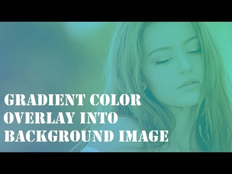 Gradient Color Overlay In Background Image