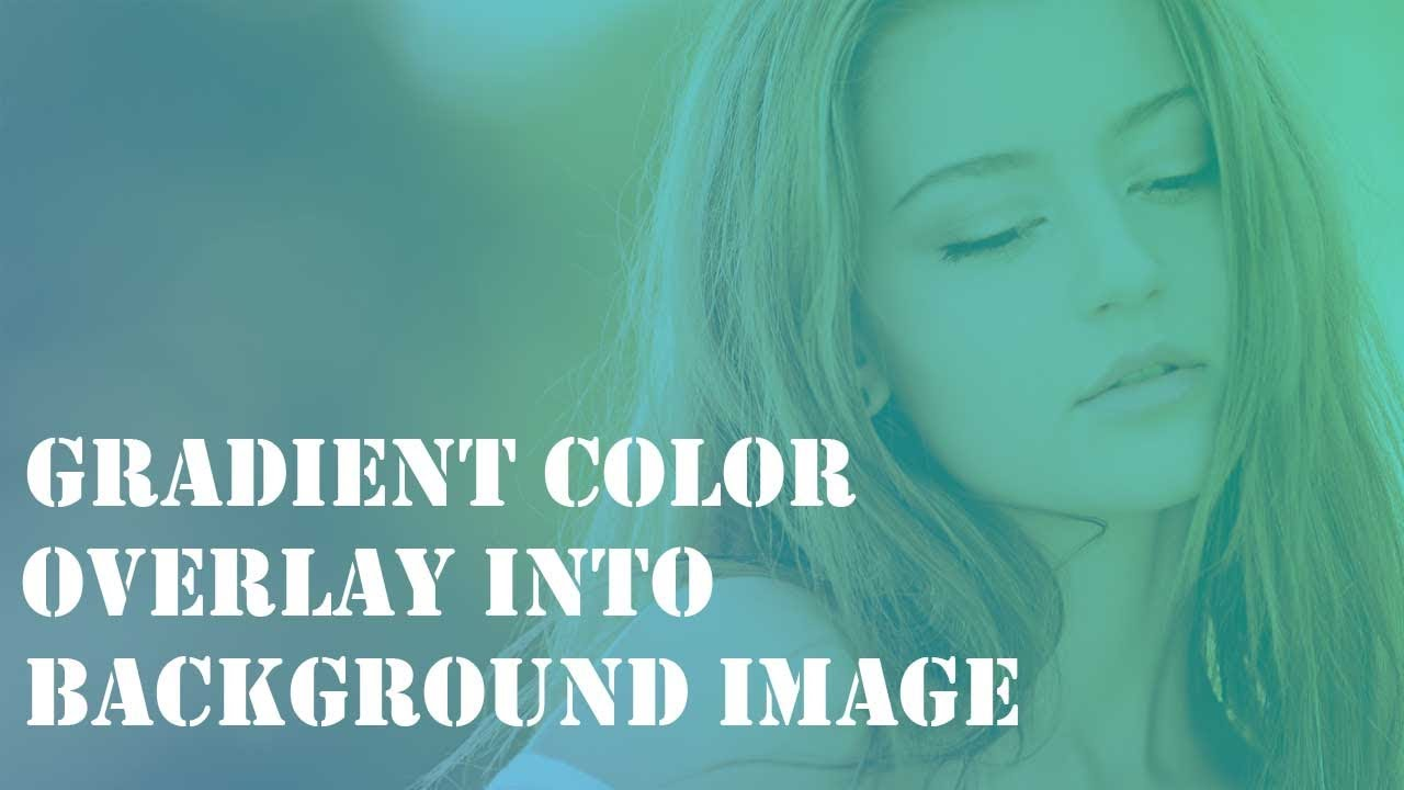 gradient color overlay in background image youtube