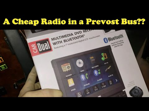 Why Are Prevost RV Radios So Complicated? XDVD176BT Dual Install