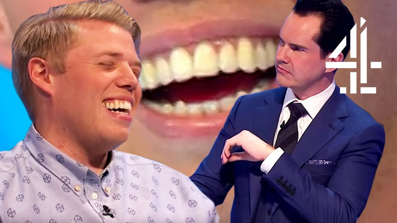 EVERY TIME JIMMY CARR MADE FUN OF ROB BECKETT'S TEETH | 8 Out of 10 Cats Does Countdown