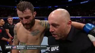 UFC 239: Майкл Киеса - Слова после боя