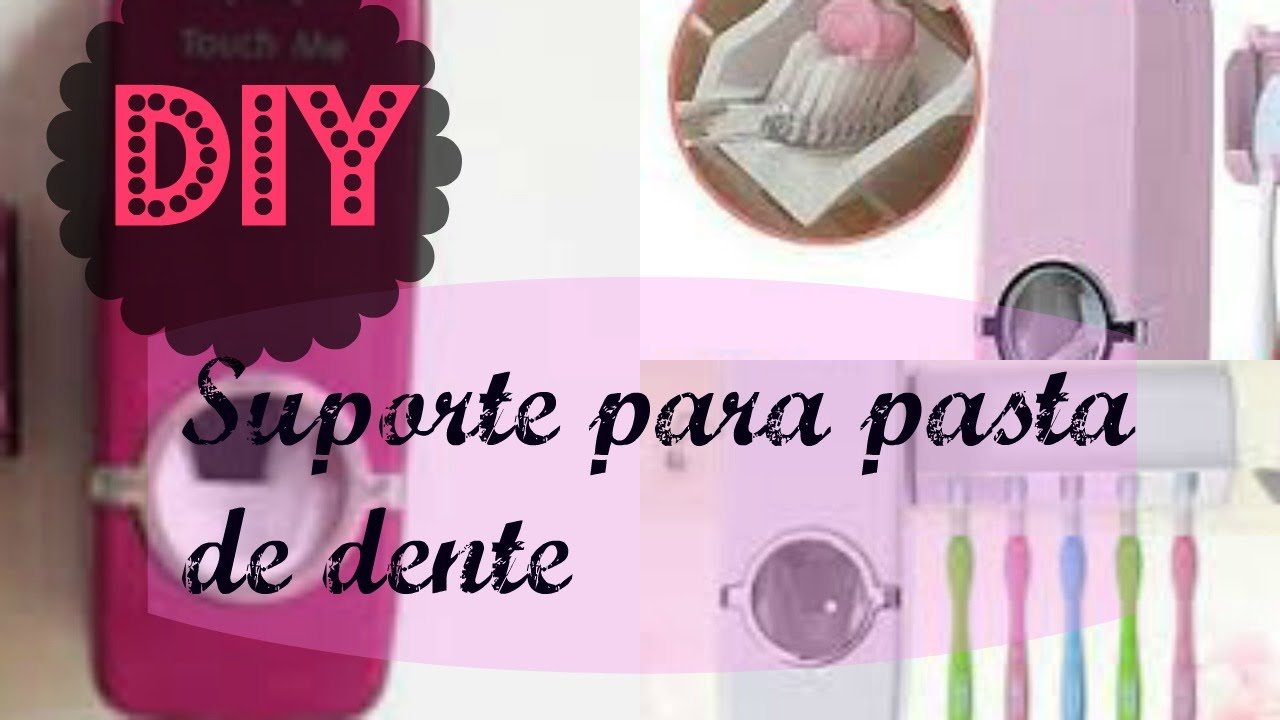 187a4b880 DIY - Suporte para creme dental que expreme ... pasta de dente - YouTube