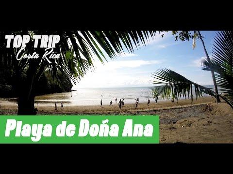 San Jose - Puntarenas Playa de Doña Ana Beach - Top Trip Costa Rica