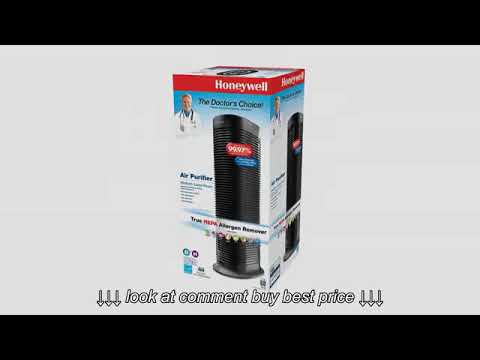 Must See Review! Honeywell HPA060 True HEPA Compact Tower Allergen Remover, 75 Sq Ft