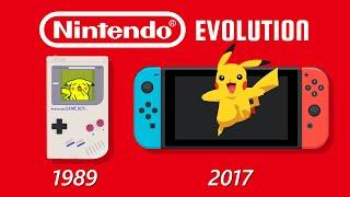 Evolution of Nintendo Handнelds (Animation)