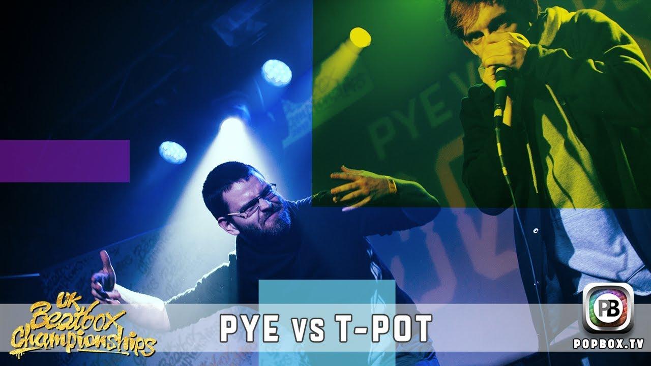 Pye vs T-Pot   Solo Top 16   2017 UK Beatbox Championships